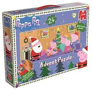 Peppa Pig Giant Advent Calendar Jigsaw Puzzle (24 Pieces)
