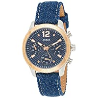 Guess Women's watch Multi-function Display Quartz Movement Leather W1057L1