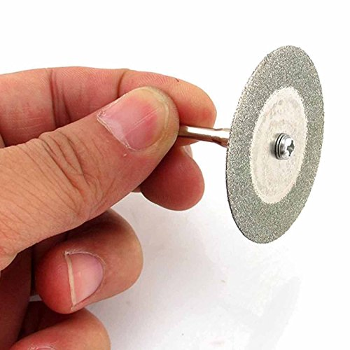 MMRM Klinge 60mm Diamant-Trennscheibe Säge mit Dorn für Rotary Dremel