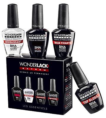 Beautynails Advance Mini Wonderlack Box avec Vernis UV Lollipop (ref. Wle051) 4 le Nécessaire pour Vernis UV Permanents