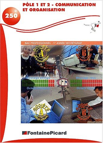 Pôle 1 et 2 Communication et organisation Bac professionnel 1ère année de secrétariat