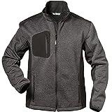 Elysee 23370-S Fleece-Jacke Innsbruck Größe S in grau/schwarz