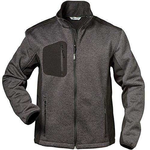 """Preisvergleich Produktbild Elysee Fleece-Jacke """"Innsbruck"""" Größe, 1 Stück, M, grau/schwarz, 23370-M"""