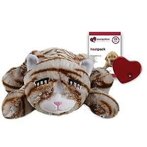 Smart Pet Love Snuggle Kitty behavioral Hilfe Spielzeug für Haustiere, Tan Tiger