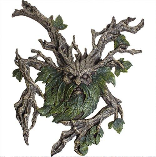 ittelalter Wandrelief Baum Greenman Baumgeist Figur (Greenman Kostüme)
