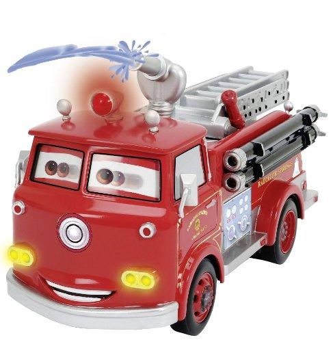 RC Auto kaufen Feuerwehr Bild 4: Dickie Spielzeug 203089549 - RC Disney Cars, Red Fire Engine, 3-Kanal Funkfernsteuerung, 29 cm, rot*