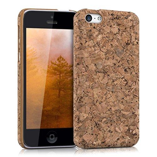 kwmobile Kork Hülle für Apple iPhone 5C - Case Schutzhülle Cover in Hellbraun