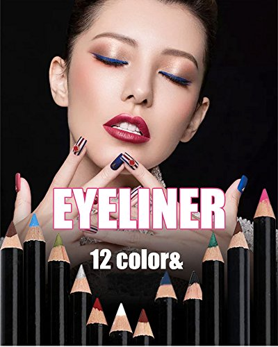 Eyeliner Waterproof Liquid Make Up Beauty Comestics Eye Liner Pencil Pen eyebrow pencil