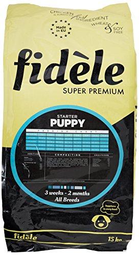 Fidele Super Premium Starter Puppy Food, 15 kg