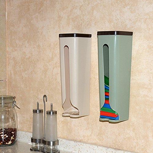 HOME-CUBE-1Pc-Grocery-Bag-Holder-Wall-Mount-Storage-Dispenser-Kitchen-Organizer-waste-bag-dispensing-case-gabage-bags-organizer
