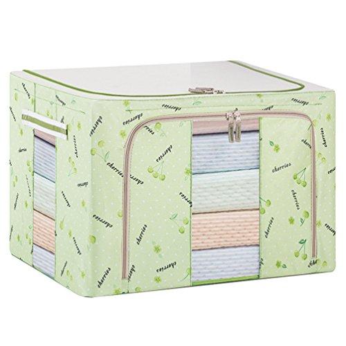 Dexinx Koffer Organizer Taschen Reise Kleidertaschen Packing Cubes für Kleidung Tragbar Steppdecke Organizer Tasche Grün 88L -
