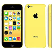 Apple iPhone 5C Amarillo 16GB Smartphone Libre (Reacondicionado Certificado)