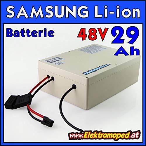 FREAKYSCOOTER 48V 29Ah Samsung 29E batería Litio-Ion