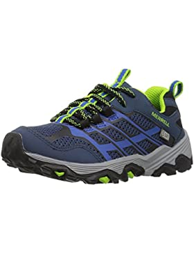 Merrell ML-s Moab Fst Low Waterproof, Zapatillas de Senderismo para Niños