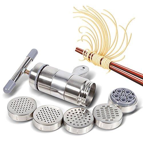 Fabricante fideos acero inoxidable Prensa fideos manual