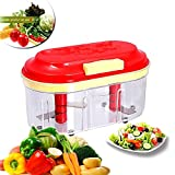 #10: Fruit & Vegetable Big Chopper With 2 Chopping Blade- Extra Speed, Extra Strong, Big Storage