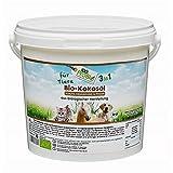 100ProBio Kokosöl für Tiere -EIN natürlich wirksamer Schutz gegen Zecken, Milben, Parasiten & Fellpflege ohne Chemie (2500ml)