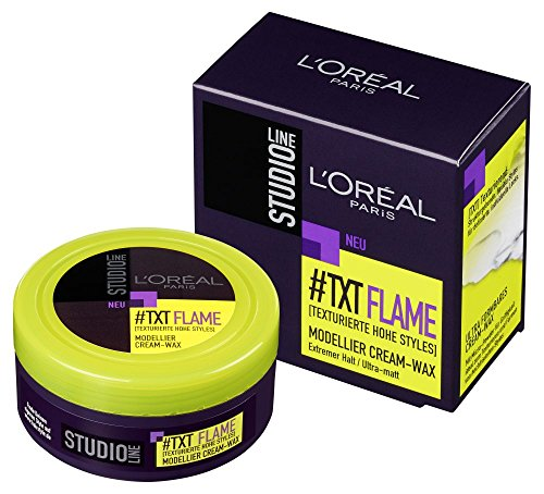 L'Oréal Paris Studio Line Flame Modellier Cream-Wax, 75 ml -
