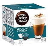 Nescafé Dolce Gusto Cappuccino Intenso, Milchkaffee, Kaffeekapsel, Kaffee, 80 Kapseln (40 Portionen)
