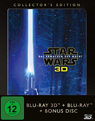 Star Wars - Das Erwachen der Macht  [3D-Blu-ray] (+ 2D-Blu-ray + Bonus-Blu-ray) [Collector's Edition]