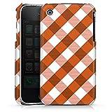 DeinDesign Apple iPhone 3Gs Coque Étui Housse Carreaux Grands Oranges