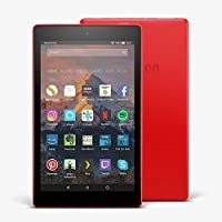 "Fire HD 8 Tablet with Alexa, 8"" HD Display, 16 GB, Punch Red — with Special Offers"