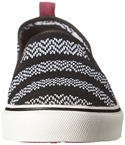 Bobs De Skechers Menace Party Lite Fashion Sneaker Black/White