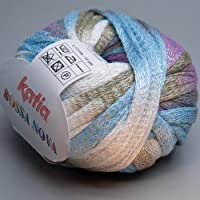 Bossa Nova Ruffling-Gomitolo di lana, 50 g, colori pastello#183