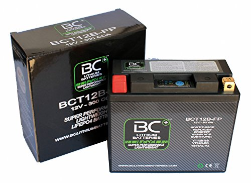 BC Lithium Batteries BCT12B-FP Batteria Moto Litio LiFePO4
