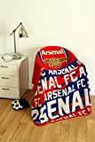 Zap Arsenal Red Crest Fleece Blanket