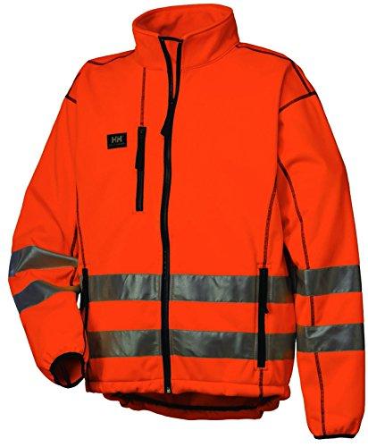 Helly Hansen 74005_260-3XL Viktoria Softshell Veste haute visibilité Taille 3XL Orange Orange