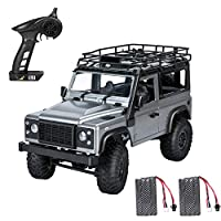 2.4G RC Car Extaum 99s 2.4G 1/12 4WD RTR Crawler RC Car Off-Road Truck for Land Rover Vehicle Models 2 batteries