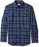 Columbia Silver Ridge camicia di flanella, Uomo, Collegiate Navy