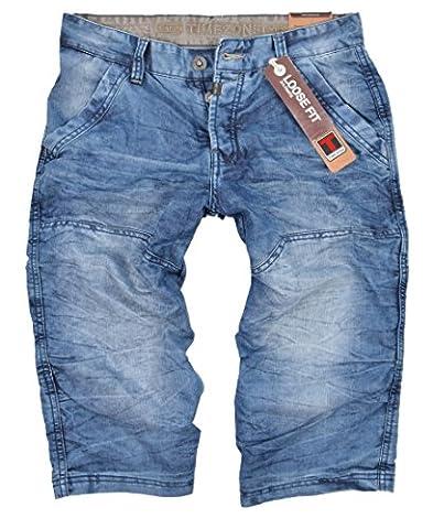 Timezone Herren Jeans Shorts New Pino