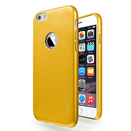 funda-iphone-6-6s-47-azorm-classic-edition-amarillo-edicion-limitada-fina-aspecto-de-cuero-premium-i