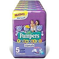 Pampers Progreso Junior, 120 Pannolini, Tamaño 5 (11-25 15-36 kg)