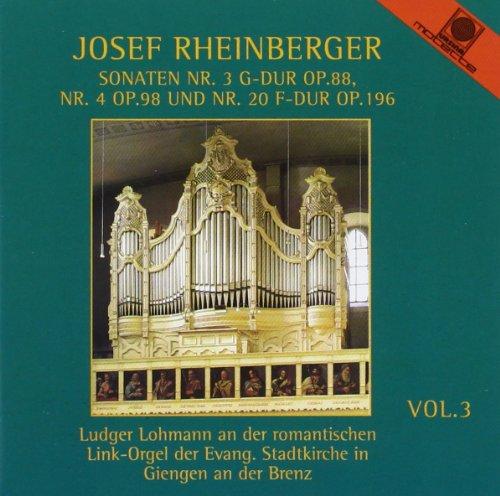 Orgelwerke Vol. 3 (gespielt an der Link-Orgel der Evangelischen Stadtkirche in Giengen)