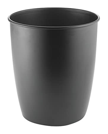 mDesign Mülleimer Küche, schwarz - der perfekte Abfalleimer - auch ...