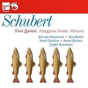 Quintette avec piano 'La Truite', Sonate 'Arpeggione' & Trio 'Notturno'