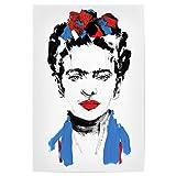 artboxONE Poster 90x60 cm Fashion Just Frida Hochwertiger Design Kunstdruck - Bild Fashion von Sarah Plaumann