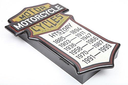 point-home Schlüsselkasten Schlüsselschrank Schlüsselbox Retro-Design Holz - 2