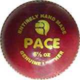 [Sponsored]R-MAX Red Pace-A Leather Cricket Ball ( 4 Part Ball, Pack Of 1 )