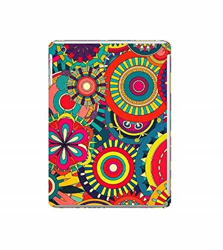 Nextgen Designer Mobile Skin for Apple iPad Mini Wifi :: Apple iPad Mini Wifi + Cellular (7.9 Inches) (Flowers Colourful Flowers Flower drawing Yellow Flowers Beautiful Flowers)  available at amazon for Rs.399