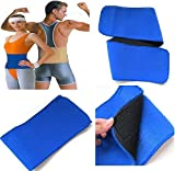 #9: Effective Relief by Elastic Waist Support Sports Wrap, Belt Brace - For Men and Women