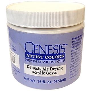 Jones Tones Gac Gesso Air Dry Acrylic Jar, Clear