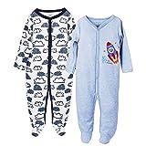 Baby-Jungen Schlafstrampler-9 Monate,2er Pack,von Future Founder