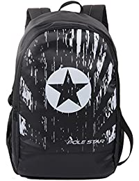 5281e716e74c Pole Star Polestar Amaze 30 LTR Black Casual Travel Backpack with Laptop  Compartment