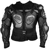 Autofy Protective Riding Gear/Body Protector/Body Guard/Body Armor (Black, Medium)