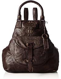 Taschendieb Td0063db, Bolsos mochila Mujer, Braun (Dunkelbraun), 9x36x41 cm (B x H T)
