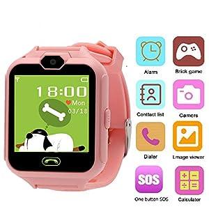 Hangang Telefonuhr, Kid Smartwatch Kamera Spiel Touchscreen Toys Cool watch, super Multifunktion spiel children watch beste Geschenke für Mädchen Jungen Kinder